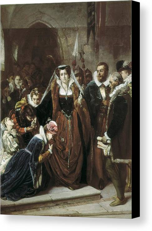 Horizontal Canvas Print featuring the photograph Vannutelli, Scipione 1834-1894. Mary by Everett