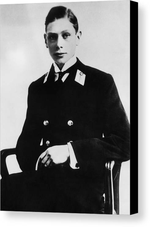 1900s Canvas Print featuring the photograph British Royalty. Prince George, Duke by Everett