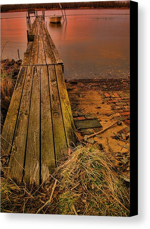 Morning Canvas Print featuring the photograph Early Morning by Ronald Lafleur