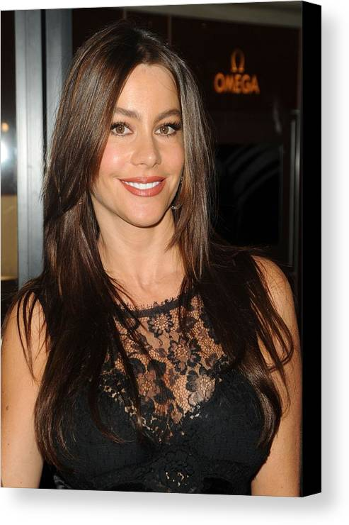 Sofia Vergara Canvas Print featuring the photograph Sofia Vergara At A Public Appearance by Everett
