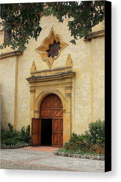 Welcoming Canvas Print featuring the photograph You Are Welcome Here by Carol Groenen