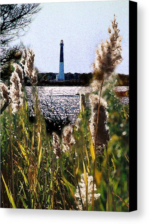Barnegat Canvas Print featuring the digital art Barnegat Bay by Steve Karol