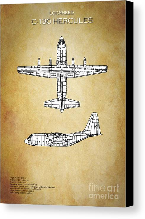 C130 hercules blueprint canvas print canvas art by j biggadike c130 canvas print featuring the digital art c130 hercules blueprint by j biggadike malvernweather Images
