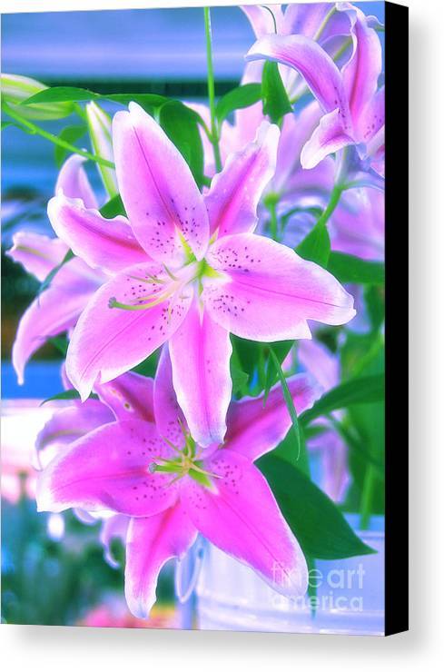 Flowers Canvas Print featuring the photograph Delightful by Charuhas Images
