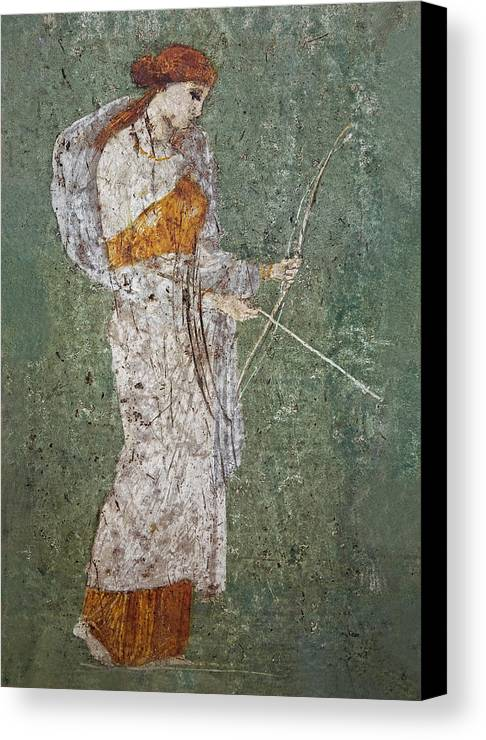 Fresco Canvas Print featuring the photograph Diana by Joachim G Pinkawa