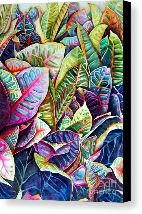 Still Life Canvas Print featuring the painting Hawaiian Morning by Gail Zavala