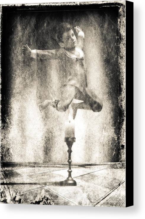 Candle Canvas Print featuring the photograph Jack Be Quick by Bob Orsillo