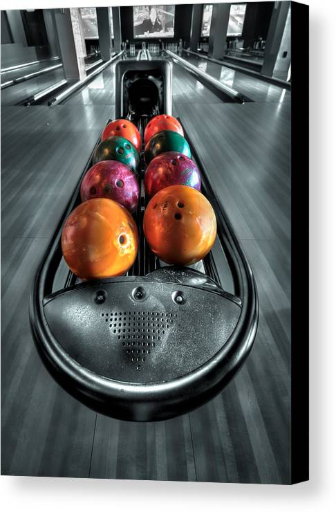 Bowl Canvas Print featuring the photograph Let The Good Times Roll by Evelina Kremsdorf