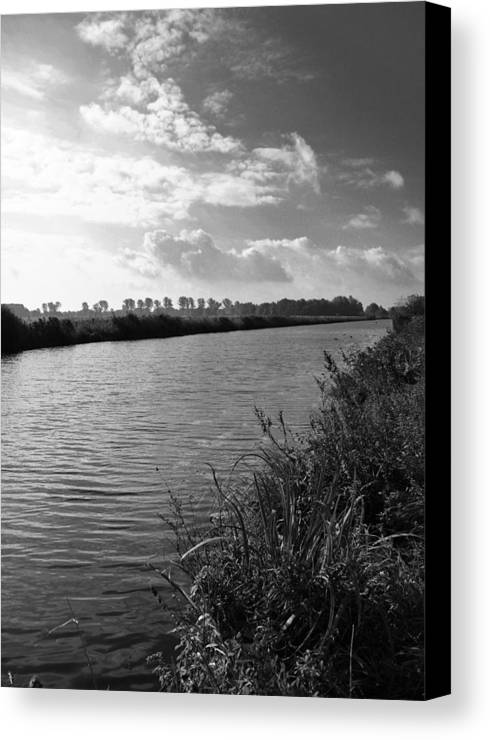 River Canvas Print featuring the photograph River In Germany by Edward Myers