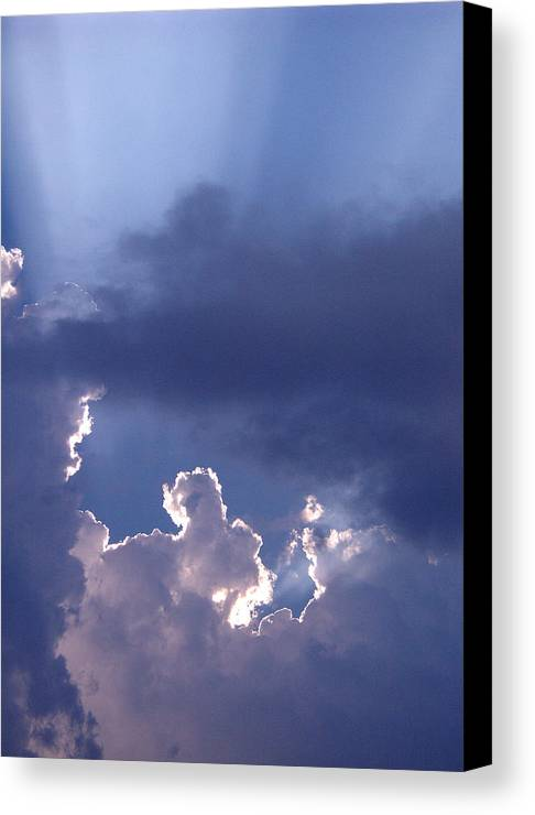 Silver Lining Canvas Print featuring the photograph Silver Lining by Nicole I Hamilton