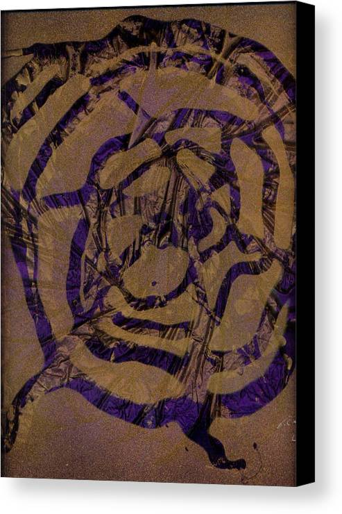 Original Canvas Print featuring the painting Spirit Web by Rick Silas
