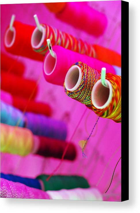 Color Canvas Print featuring the photograph String Theory by Skip Hunt