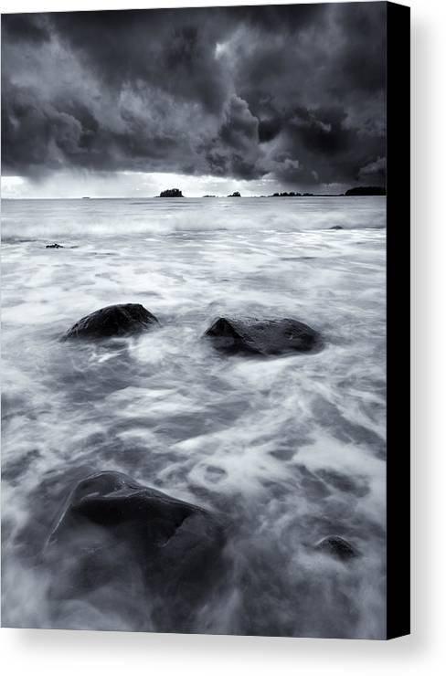 Sitka Canvas Print featuring the photograph Turbulent Seas by Mike Dawson