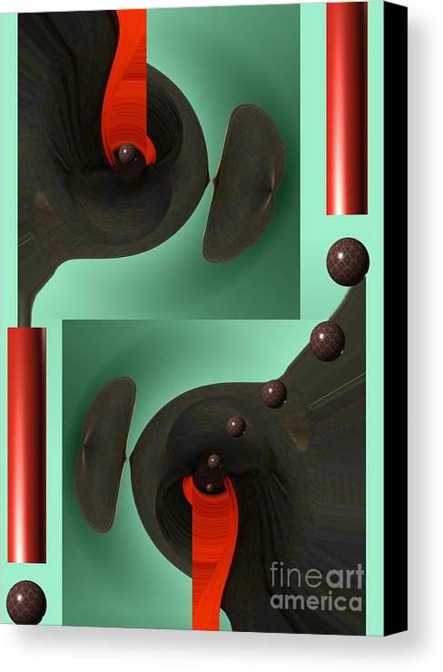 Digital Canvas Print featuring the digital art Urban Dream by Peter Maricq