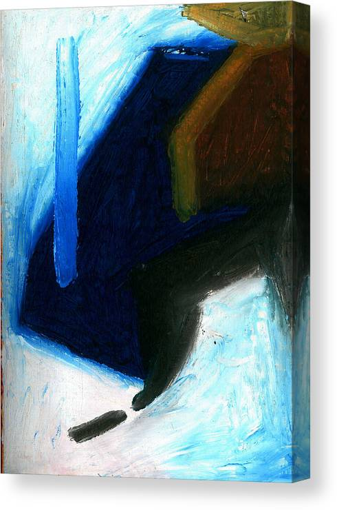 Abstract Canvas Print featuring the painting 03 by Daniel Clark