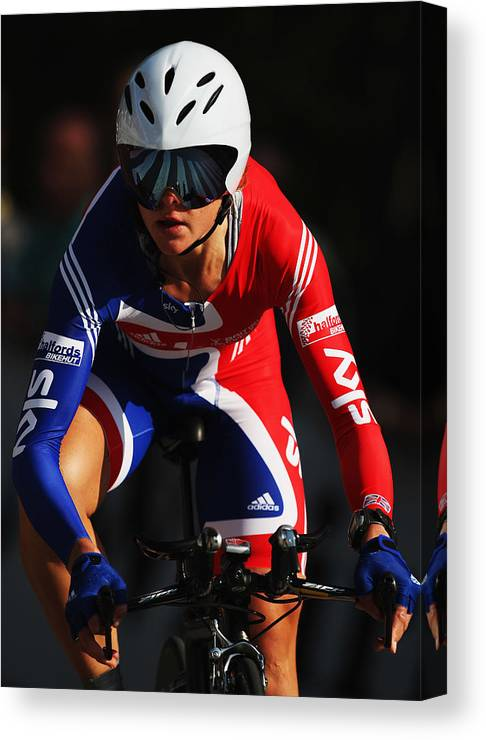 Uci Road World Championships - Elite Women Time Trial Canvas Print