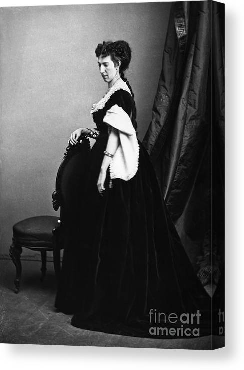 1860s Canvas Print featuring the photograph Belle Boyd (1844-1900) by Granger