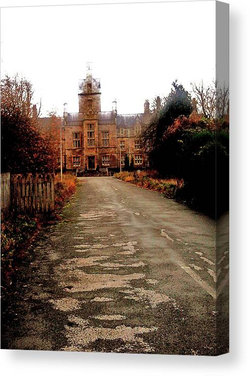 Old Canvas Print featuring the photograph Asylum by Martin Williams
