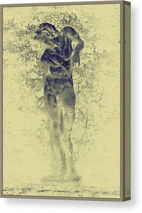 Gardens Canvas Print featuring the photograph Boboli Gardens #3, Florence by Slawek Aniol