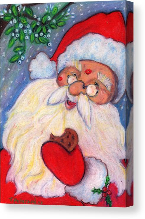 Painting Canvas Print featuring the painting Cookies And Kisses by Todd Peterson