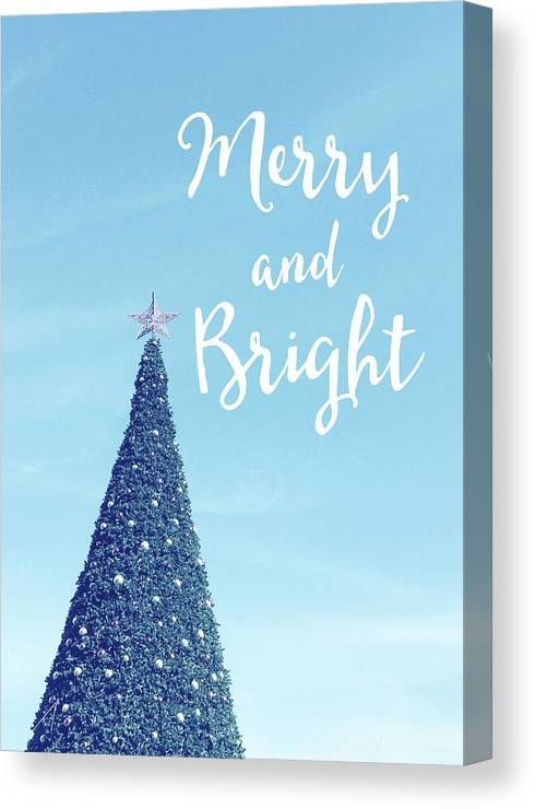 Merry And Bright Canvas Print featuring the photograph Merry And Bright - Art By Linda Woods by Linda Woods