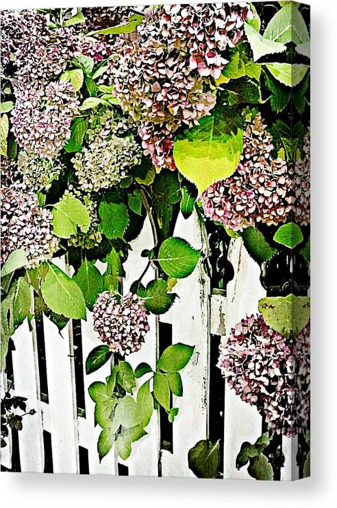 Flower Canvas Print featuring the photograph Watercolor by JAMART Photography