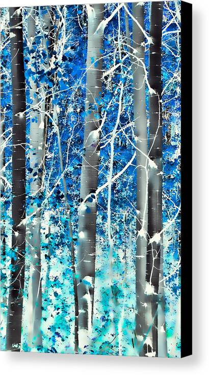 Aspens Canvas Print featuring the photograph Lost In A Dream by Don Schwartz