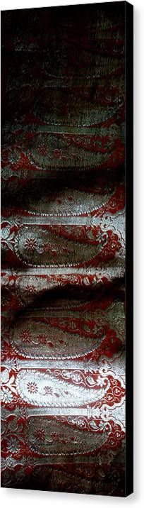 Silver Canvas Print featuring the photograph Purdah by Vah Pall