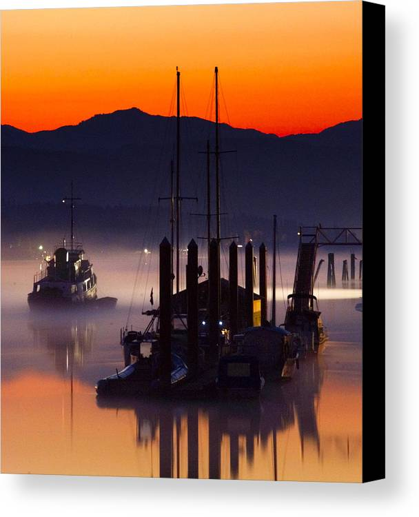 Boat Canvas Print featuring the photograph Coming Home by Detlef Klahm