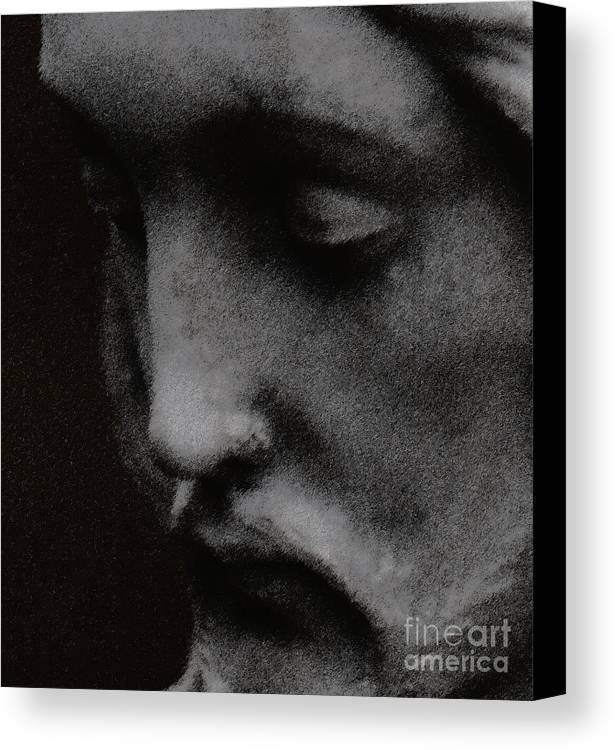 Statuary Canvas Print featuring the photograph Gethsemane by Linda Shafer