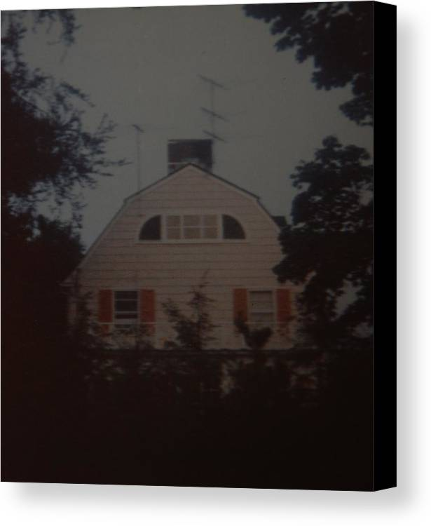 The Amityville Horror Canvas Print featuring the photograph The Amityville Horror by Rob Hans