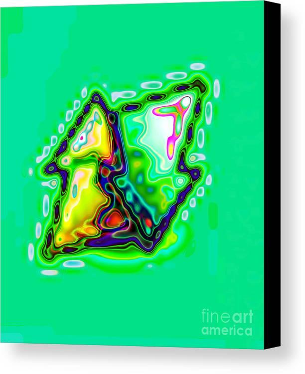 Kazaniwskyj Canvas Print featuring the digital art Various Colors 31 by Alfred Kazaniwskyj