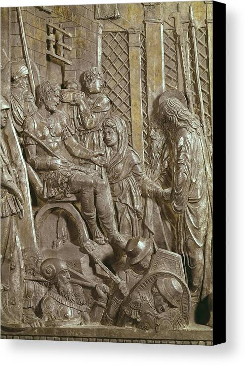 Vertical Canvas Print featuring the photograph Donatello, Donato De Betto Bardi by Everett