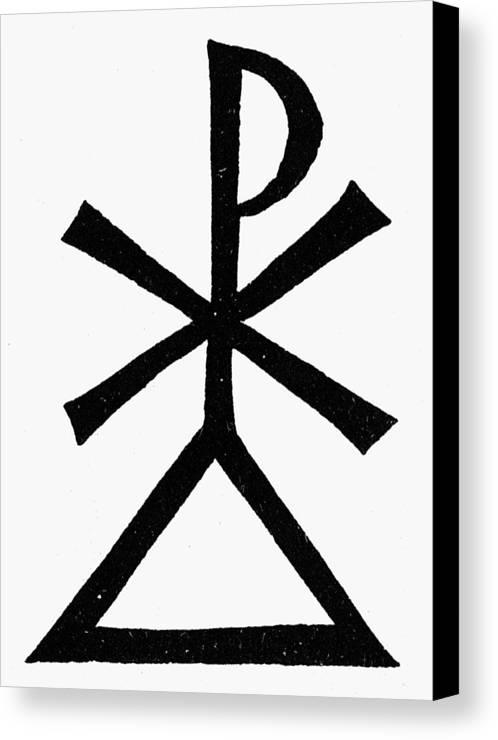 Symbols Holy Trinity Canvas Print Canvas Art By Granger
