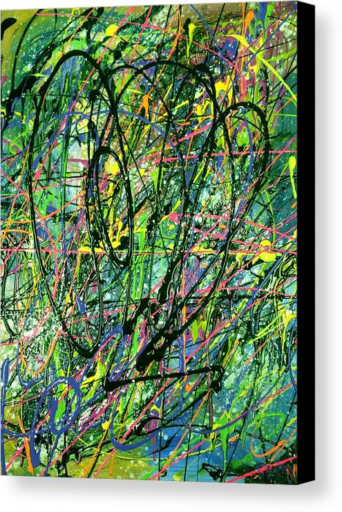 Reduced To Nothing Canvas Print featuring the painting Reduced To Nothing by Patti Shonek