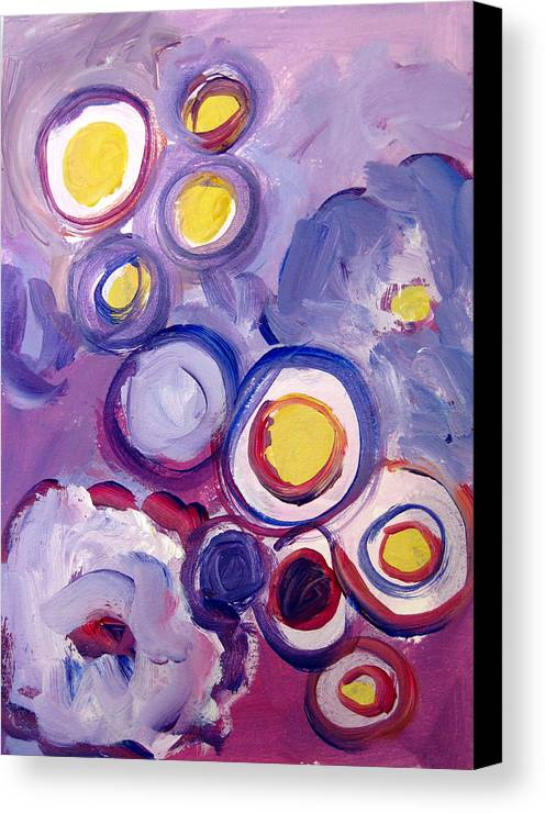 Abstract Art Canvas Print featuring the painting Abstract I by Patricia Awapara