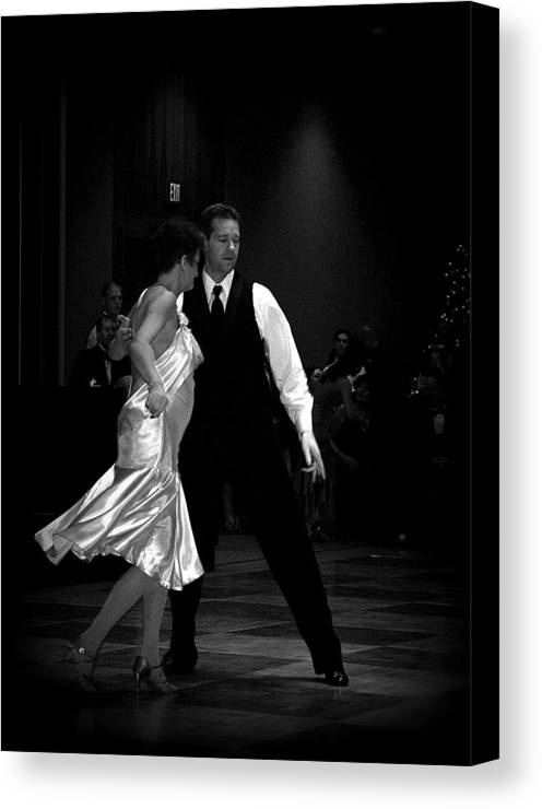 Dance Canvas Print featuring the photograph Ballroom by Lori Seaman