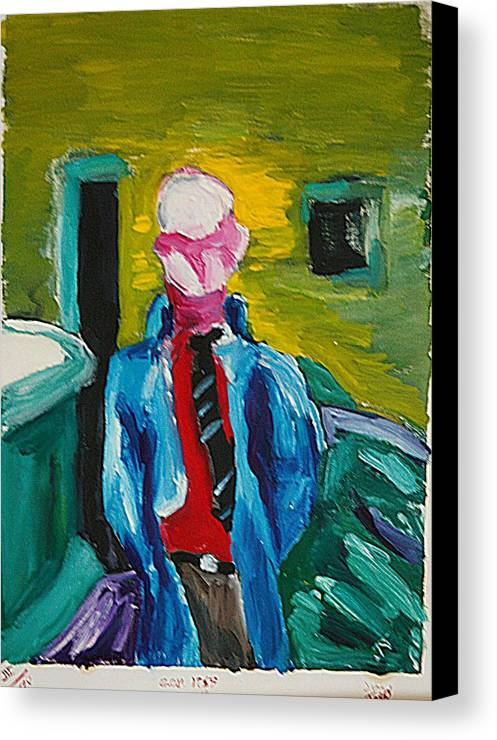 Any Canvas Print featuring the painting Billy by John Toxey
