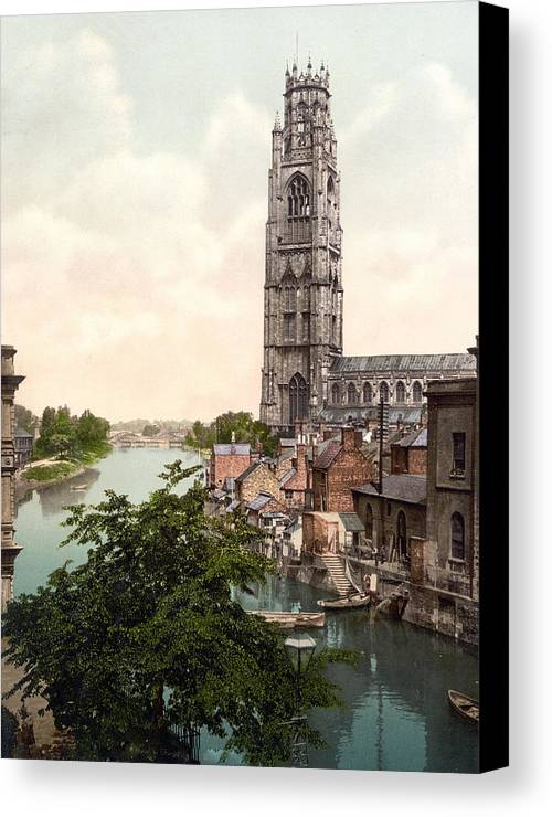 Boston Canvas Print featuring the photograph Boston - England by International Images
