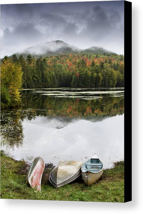 Adirondack Canvas Print featuring the photograph Flavor Of The Adirondacks by Brendan Reals