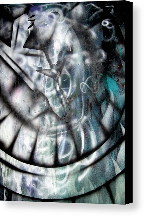 Modern Canvas Print featuring the painting Rebirth3 by Leigh Odom