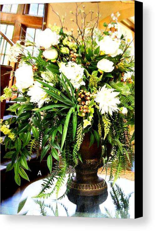 Flowers Canvas Print featuring the photograph Sound Of Flowers by Lord Frederick Lyle Morris