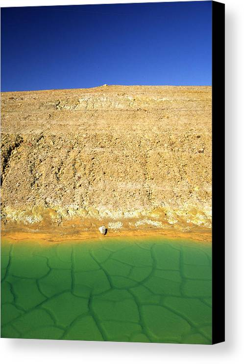 Landscape Canvas Print featuring the photograph The Wild And The Blue Yonder by Randy Oberg