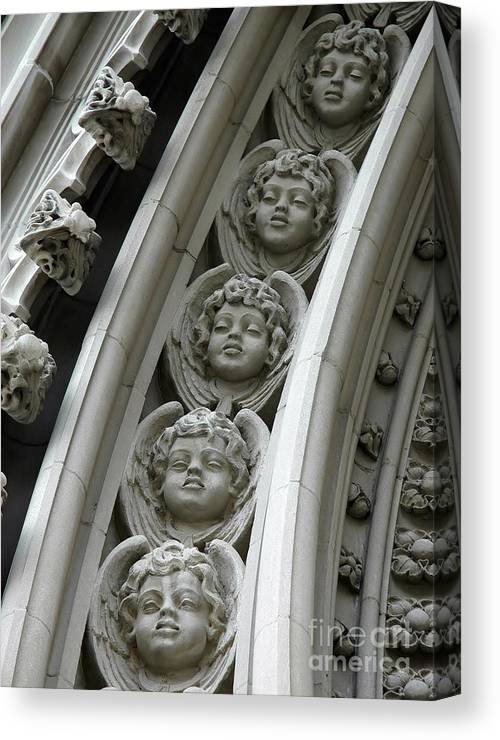 Architecture Canvas Print featuring the photograph Angels Rising by Jennie Stewart