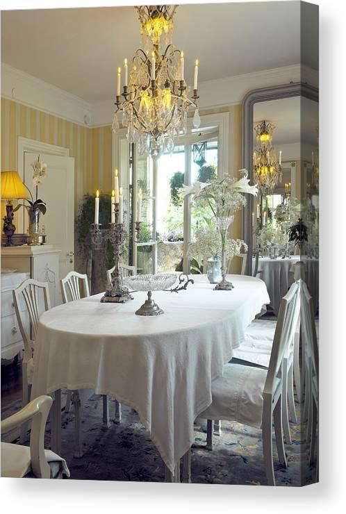 Dining Room Canvas Print Canvas Art By Dag Sundberg