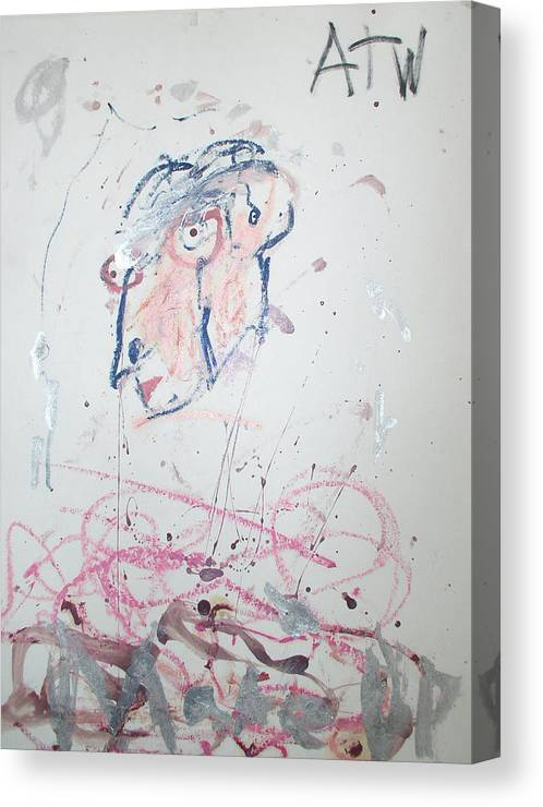 Abstract Canvas Print featuring the photograph Untitled by Alexander Wahl