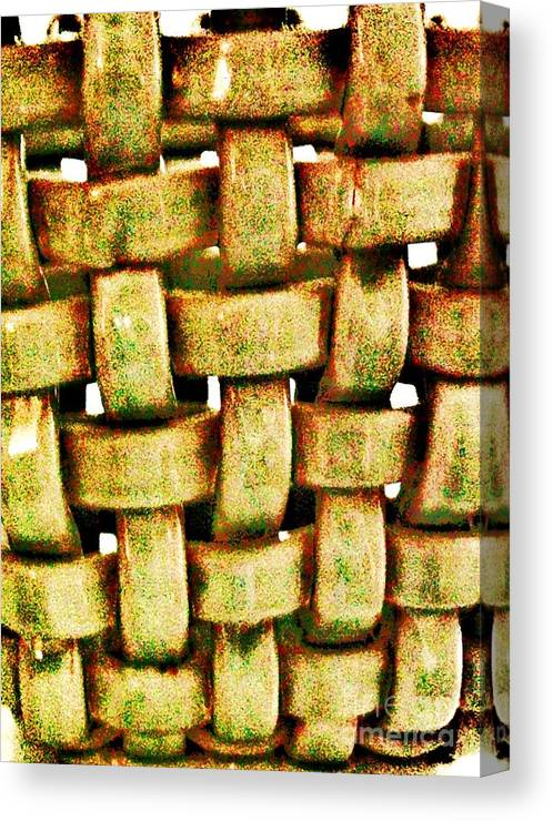 Photo Canvas Print featuring the photograph Abstract Texture by Marsha Heiken