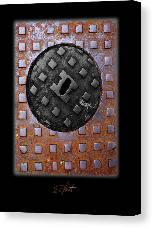 Heavy Metal Canvas Print featuring the photograph Black Diamond by Charles Stuart
