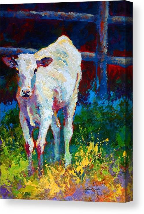 Western Canvas Print featuring the painting Like My Daddy by Marion Rose