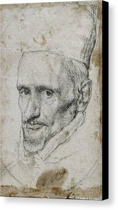 Vertical Canvas Print featuring the photograph Borja Y Velasco, Gaspar De 1580-1645 by Everett